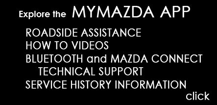 LEARN ABOUT THE  MYMAZDA APP
