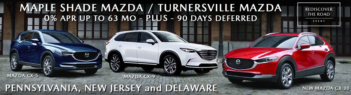 Mazda Family of ALL WHEEL DRIVE SUVs
