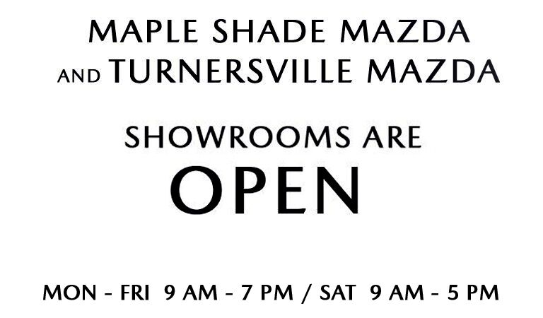 MAPLE SHADE MAZDA - TURNERSVILLE OPEN