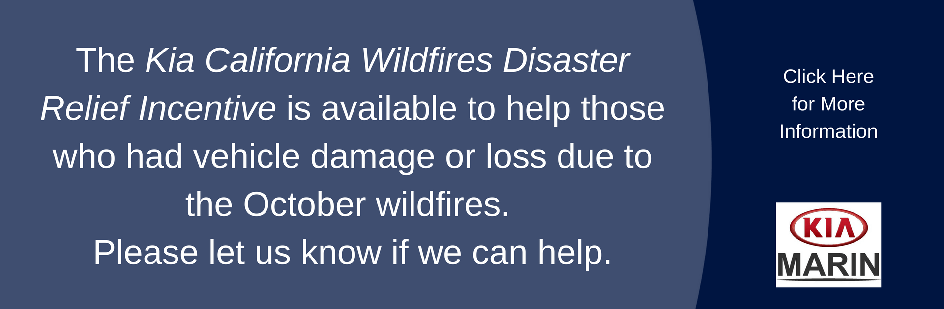 Kia Wildfire Relief
