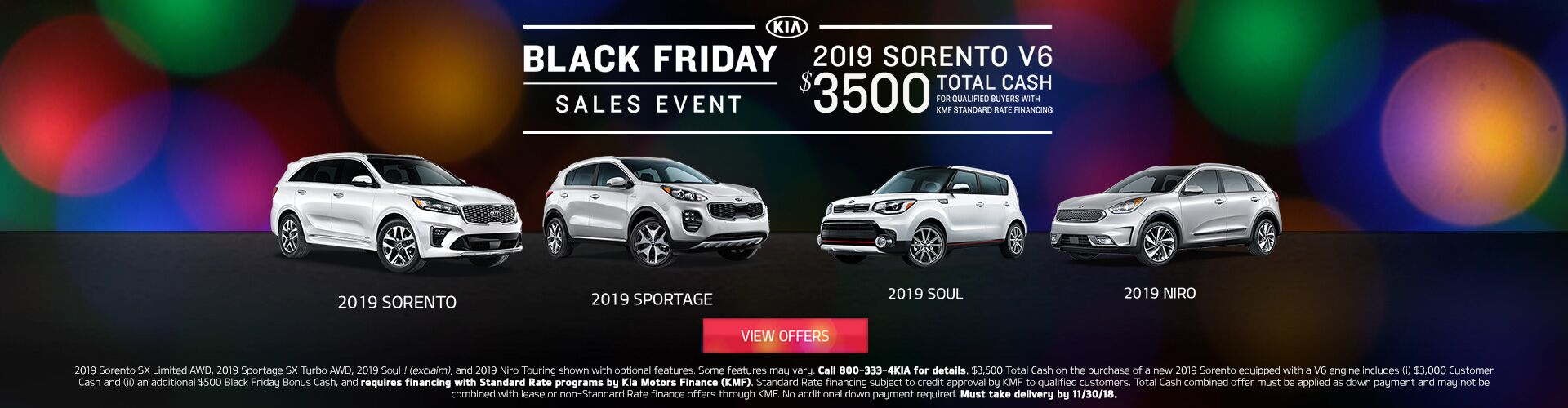 Black Friday Sales Event 201822
