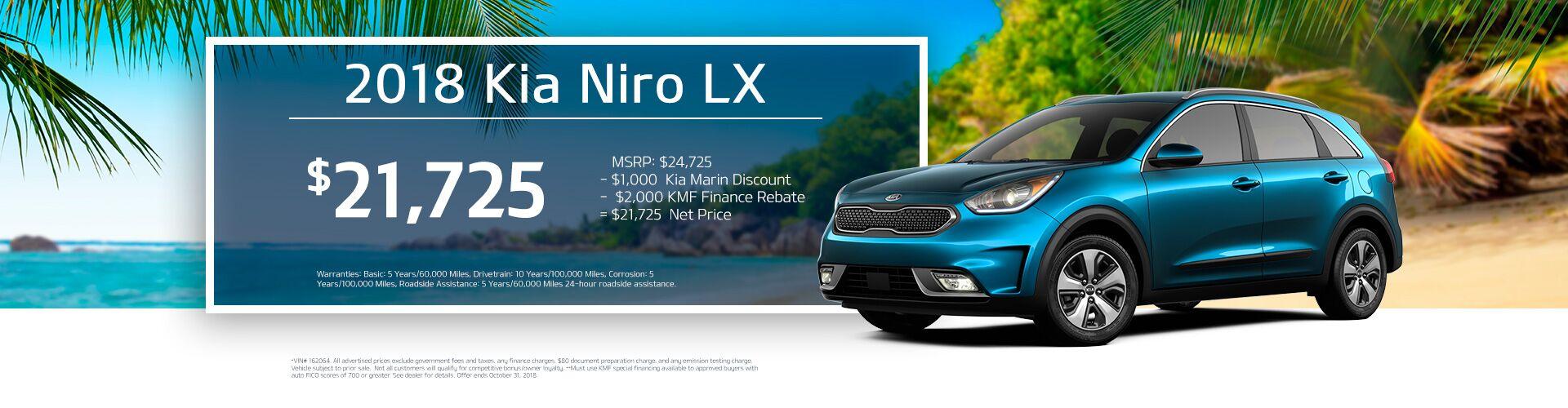 Niro LX · 2019 Kia Optima