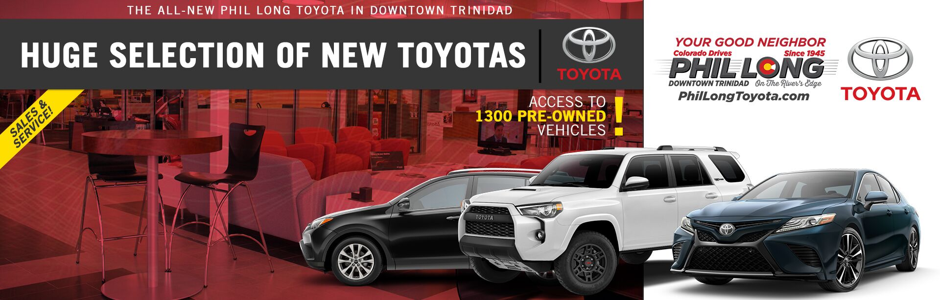 Huge Selection of New Toyotas