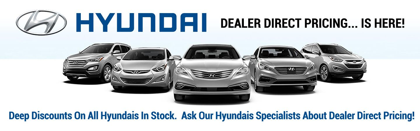 Dealer Direct Pricing - New Hyundai