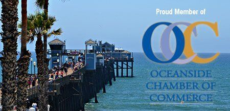 Proud Member of Oceanside Chamber of Commerce