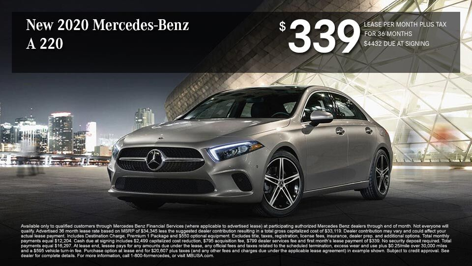 New 2020 Mercedes Benz A 220