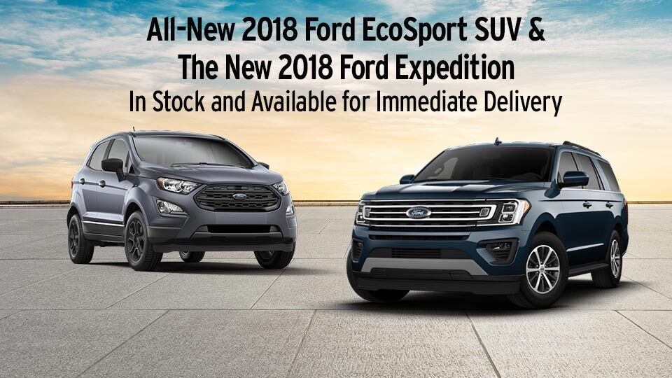 EcoSport and Expedition