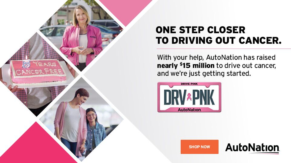 Drive Pink at AutoNation Ford Amherst