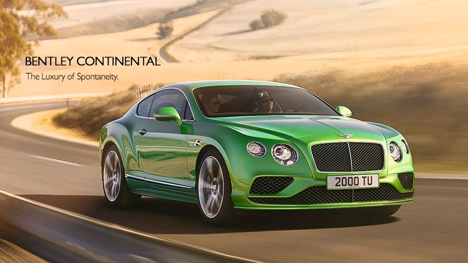 New Bentley Continental at Newport Auto Center