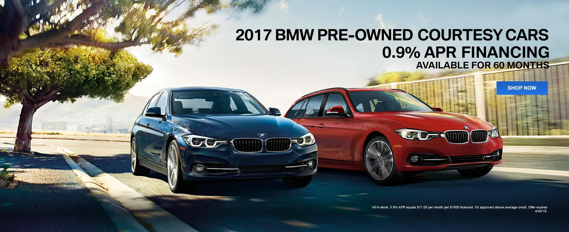 2017 BMW Pre-owned Courtesy Cars