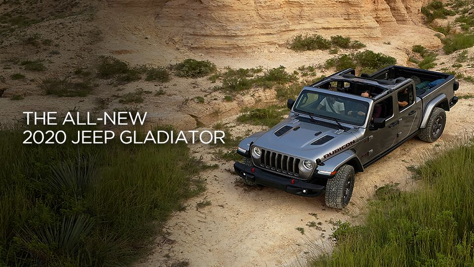 The All-New 2020 Jeep Gladiator