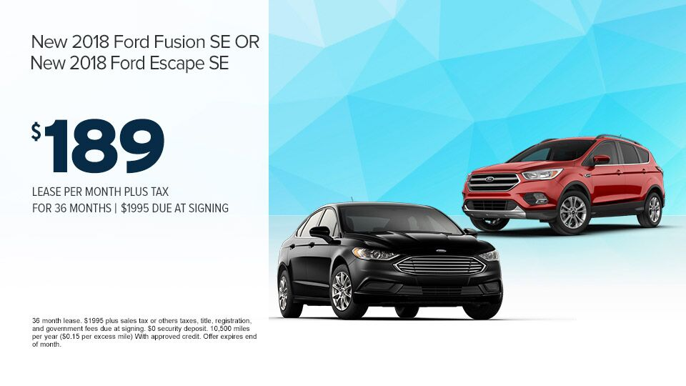 2018 Fusion or Escape