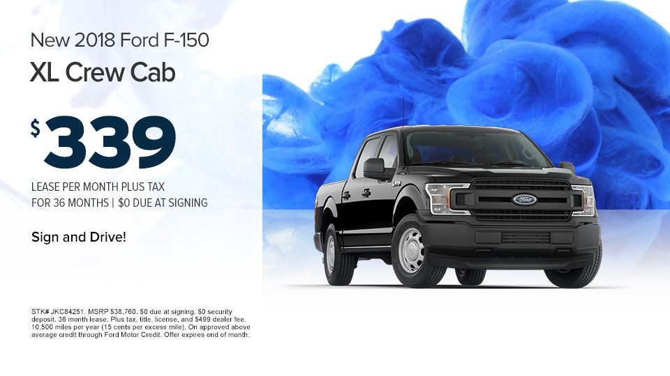 2018 Ford F-150 XL Crew Cab