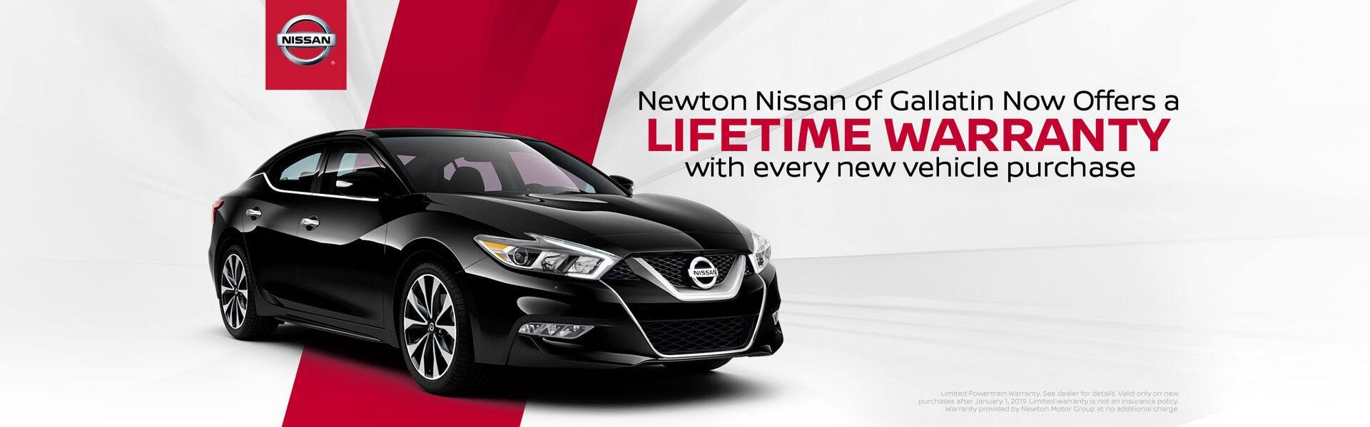 Newton Nissan Lifetime Warranty