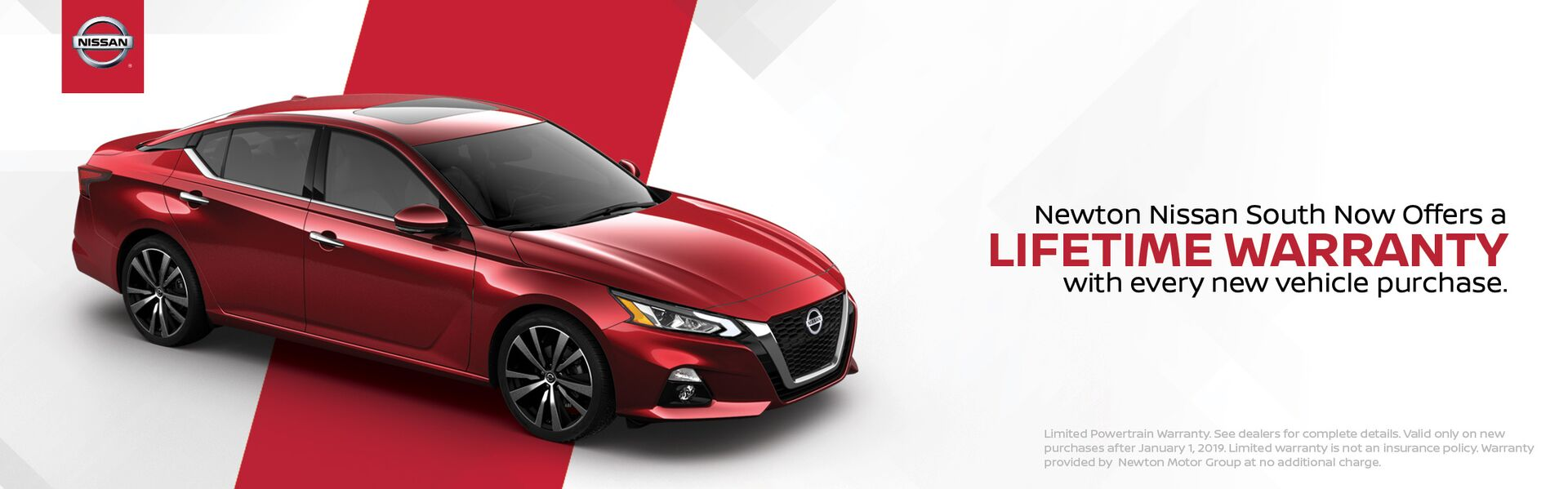 Newton Nissan South Lifetime Warranty