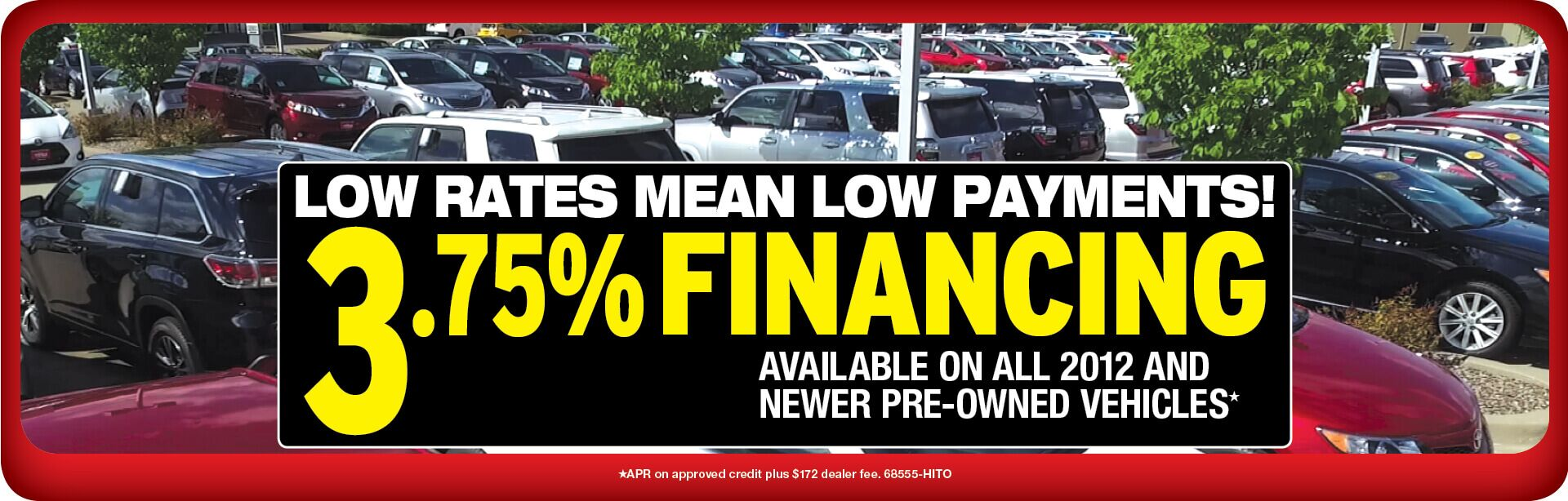 Used Vehicle Financing