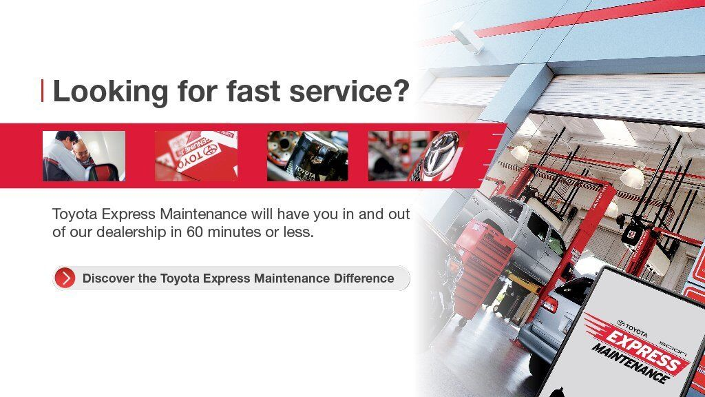 National - Toyota Express Maintenance