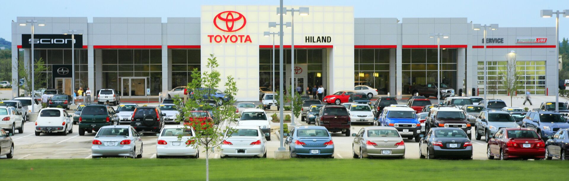 Welcome to Hiland Toyota
