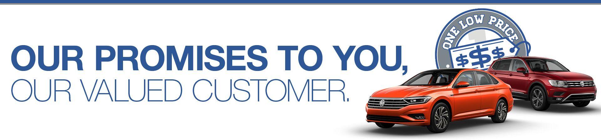 Volkswagen of Inver Grove Brand Promises