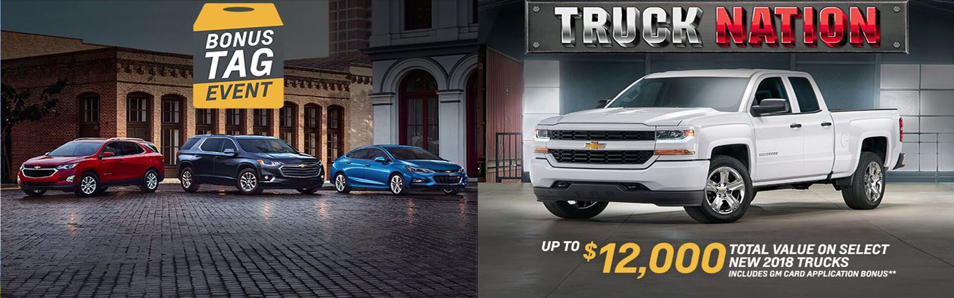 Chevy Truck Month & Bonus Tag