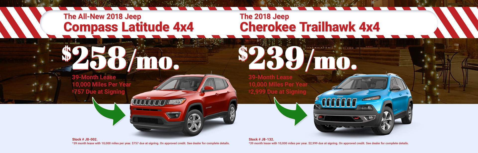 2018 JEEP Compass & Latitude