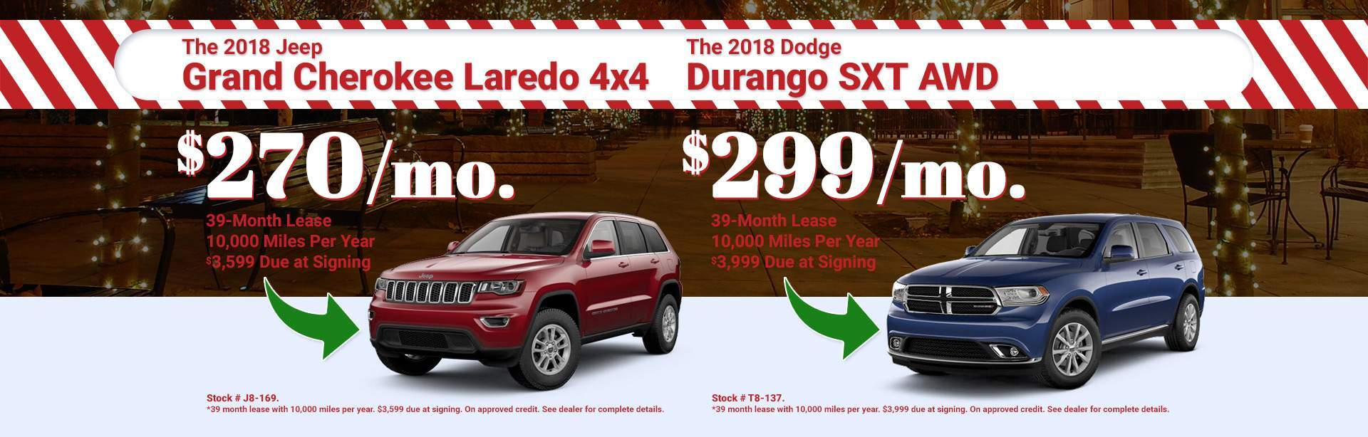 2018 JEEP Grand Cherokee & Dodge Durango