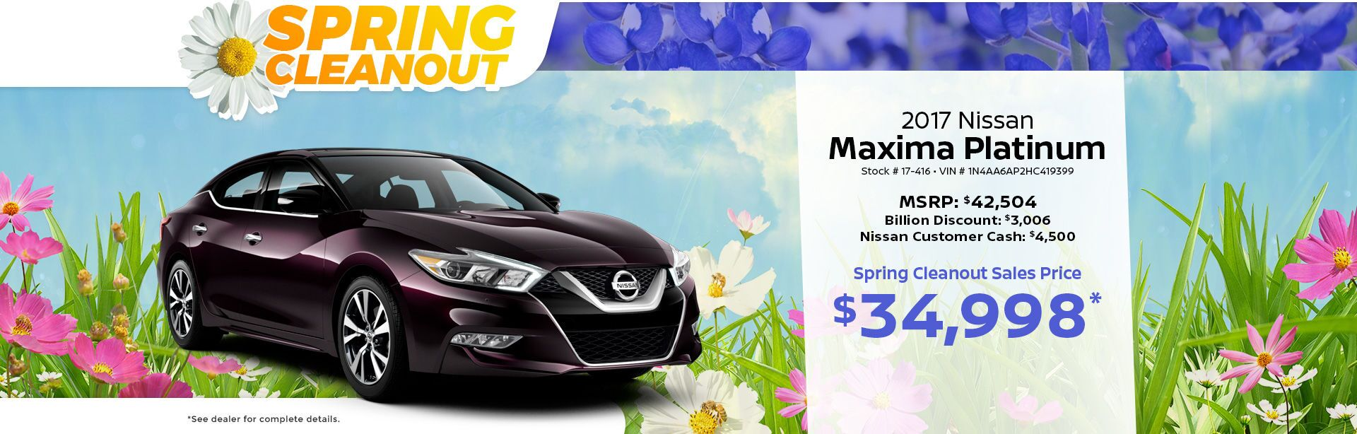 Spring Cleaning Maxima