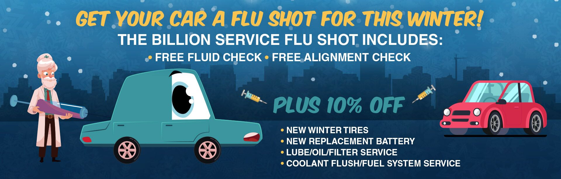 Get Your Car a Flu Shot