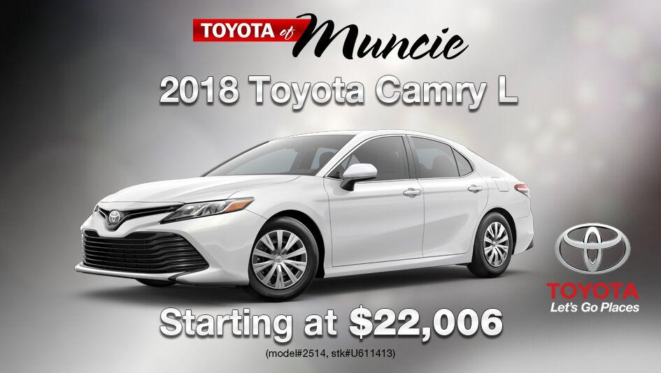 2018 Toyota Camry L Auto
