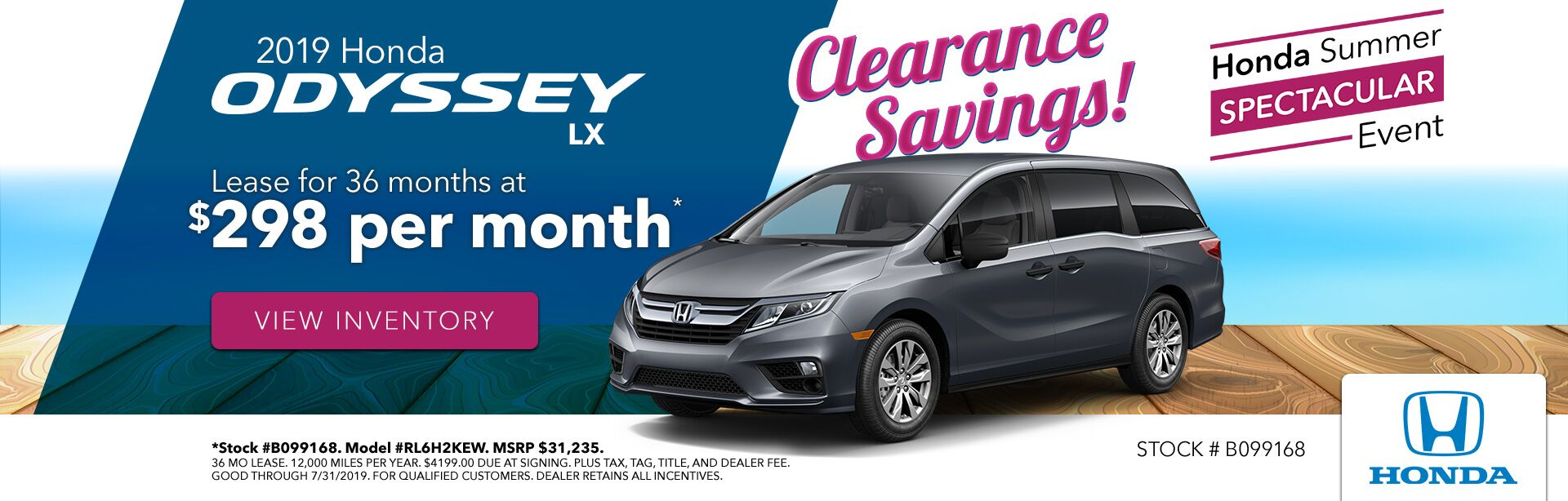 2019 Honda Odyssey at Gates Honda in Richmond, KY