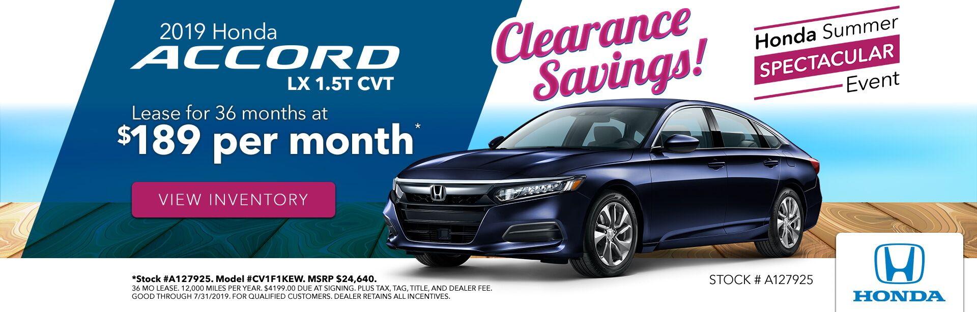 2019 Honda Accord at Gates Honda in Richmond, KY