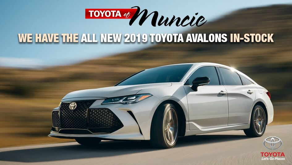 All New 2019 Avalon