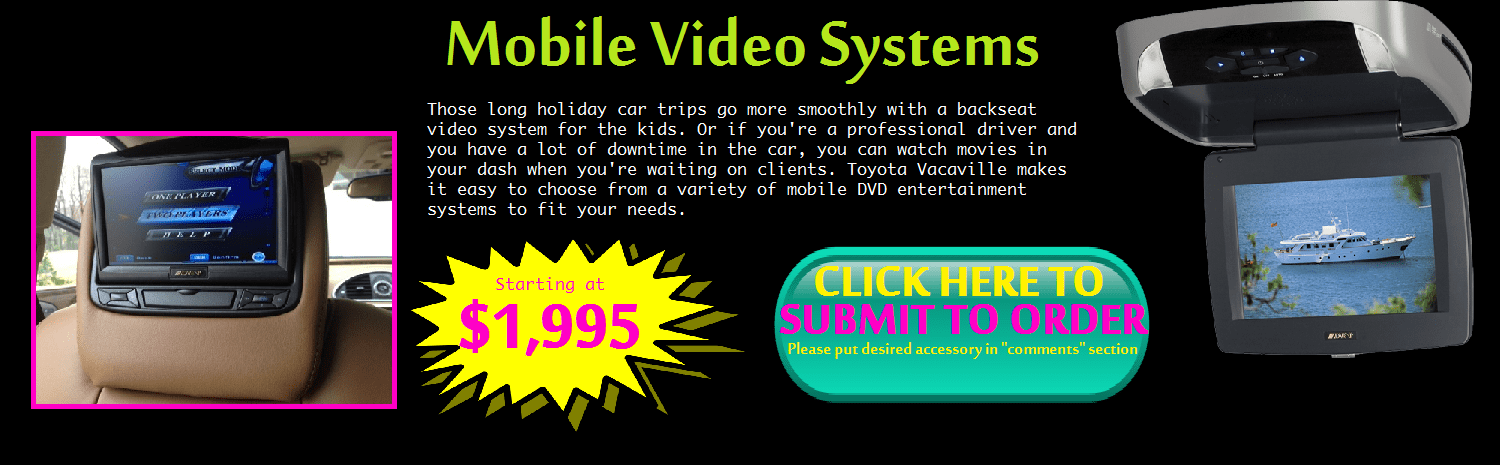 Mobile Video Systems at Toyota Vacaville