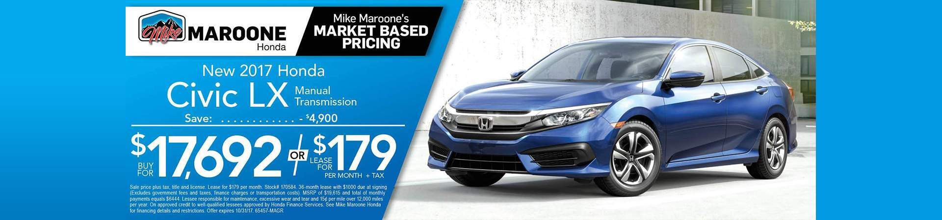 2017 Honda Civic Colorado Springs