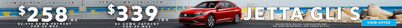 2019 Jetta GLI Pencil Banner