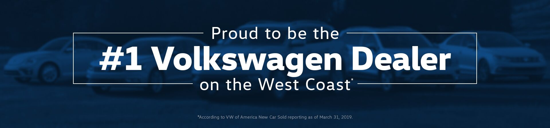 #1 VW Dealer on the West Coast