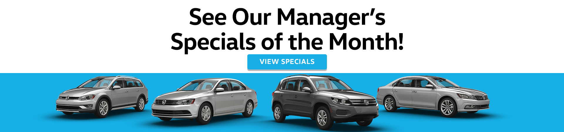 Monthly Volkswagen Vehicle Specials