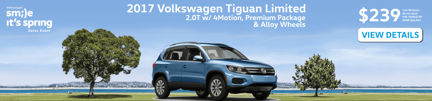 Volkswagen Tiguan Limited Lease in Rochester, NH