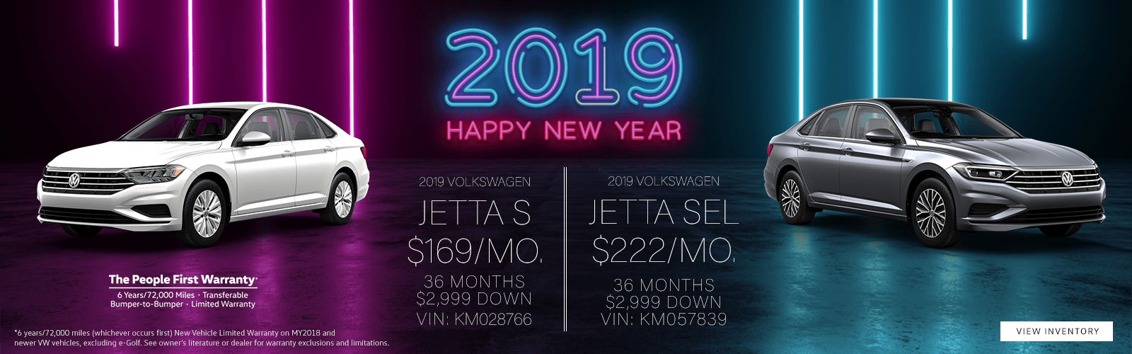 Jan '19 Volkswagen Jetta Lease