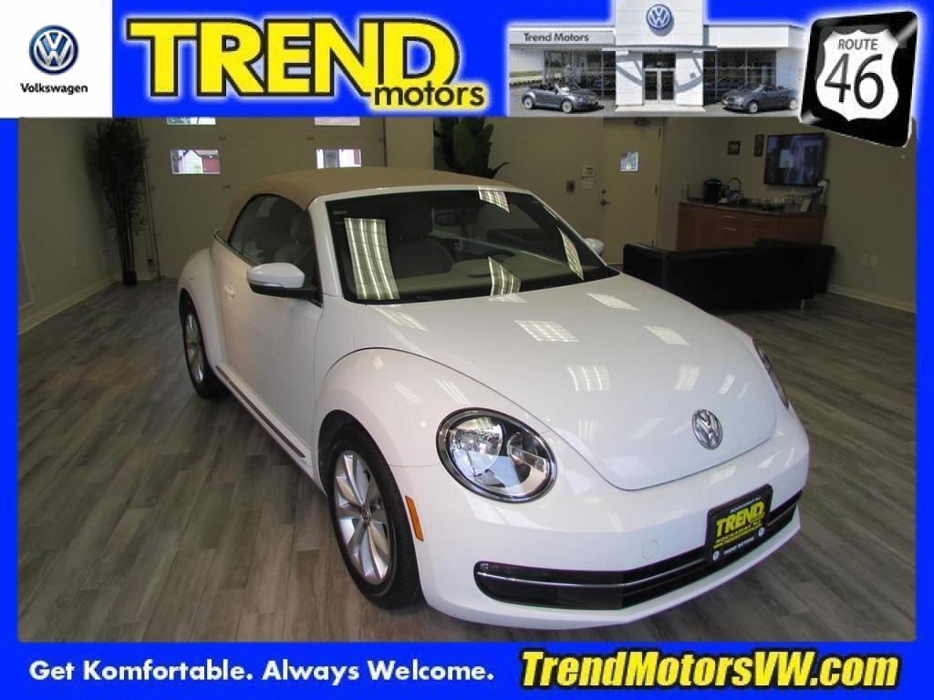2013 Volkswagen Beetle Convertible 2.0L TDI