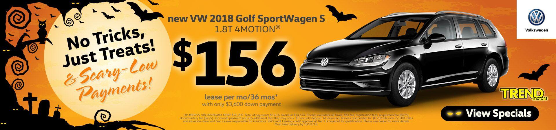 2018 vw golf sportwagen - 46 Automotive Cv Effortless
