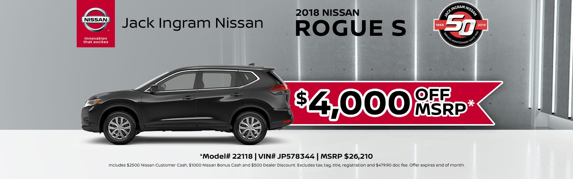 Rogue MSRP September