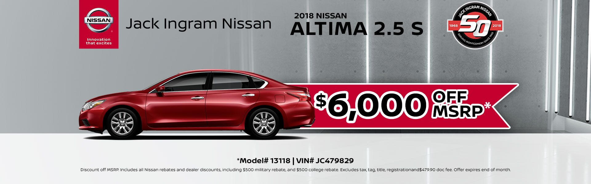Nissan Altima MSRP Sept
