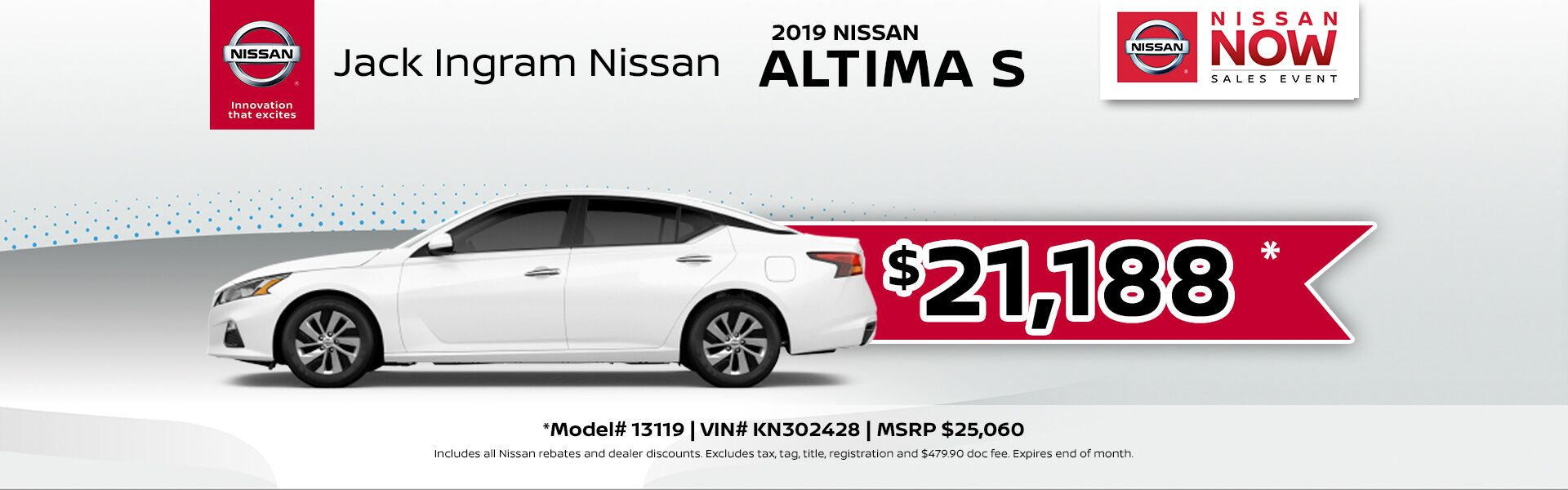 Nissan Altima March