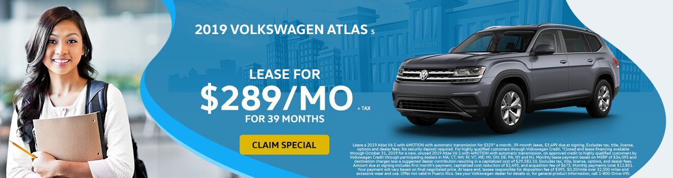 2019 VW Atlas September Special