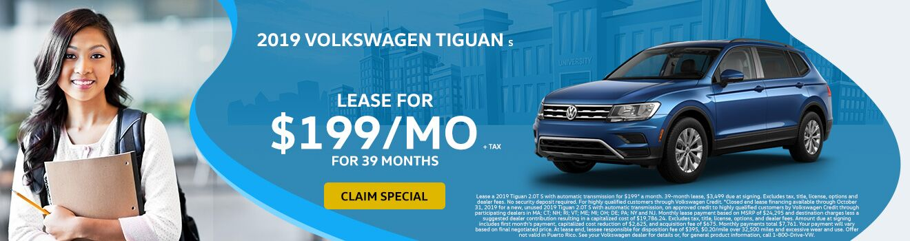 2019 VW Tiguan September Special