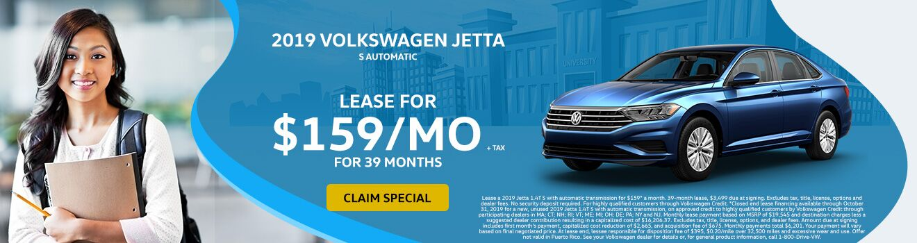 2019 VW Jetta September Special