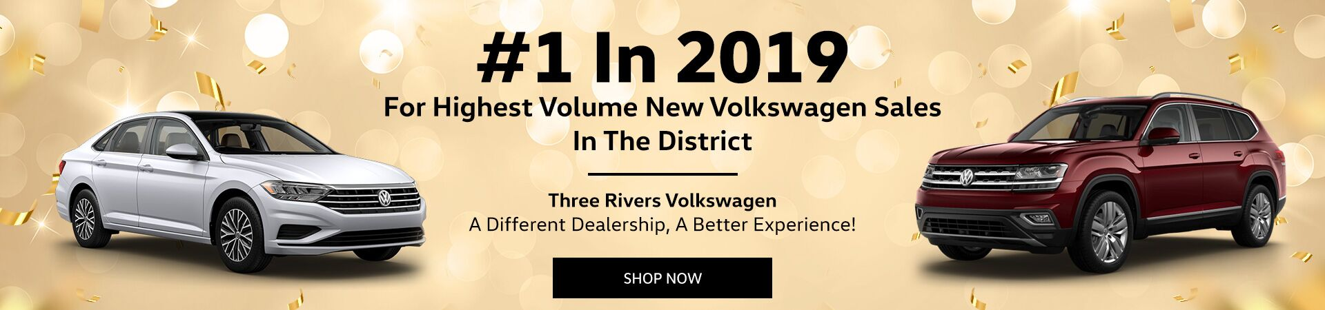 Highest Volume New VW Sales In The District For 2019