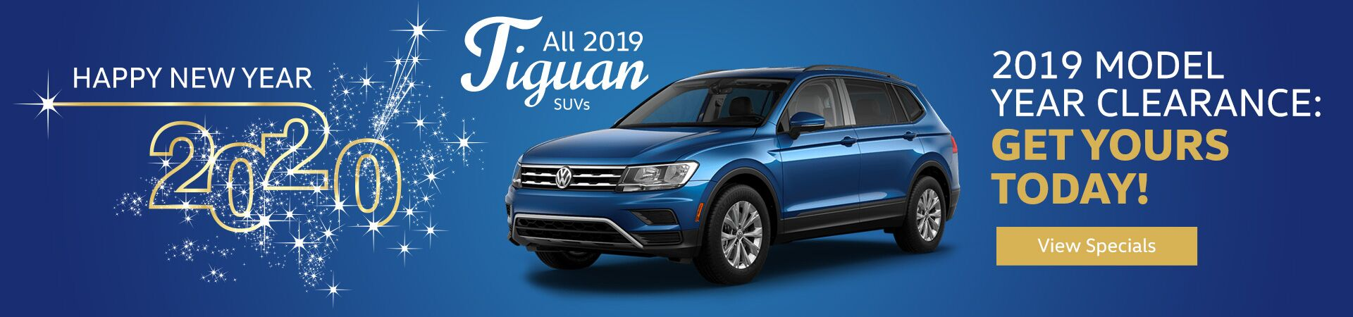 2019 Tiguan Model Year Clearance