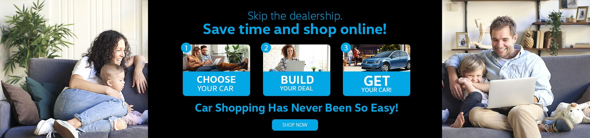 Save Time & Shop Online